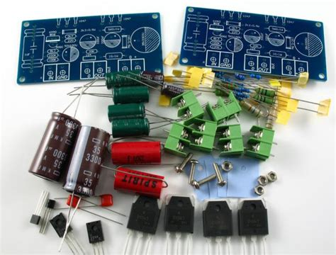 class a transistor lifier kit low cost simple linsley 1969 class a kit build minirig