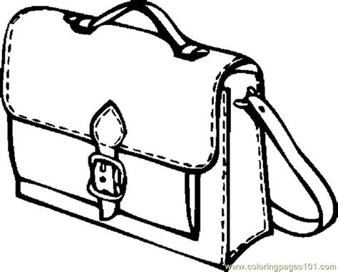 coloring page school bag book bag 07 coloring page free school coloring pages