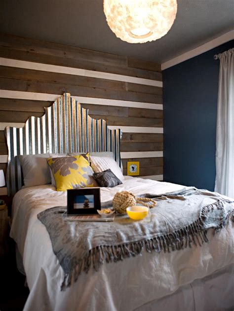 Corrugated Tin Headboard by Diy Headboard Ideas Home Rocks
