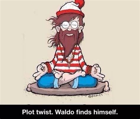 Waldo Meme - waldo finds himself where s waldo where s wally
