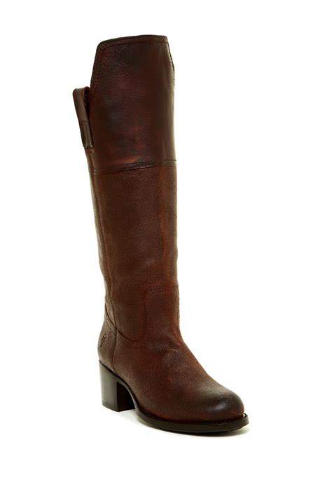 frye autumn shield suede leather boot nordstrom