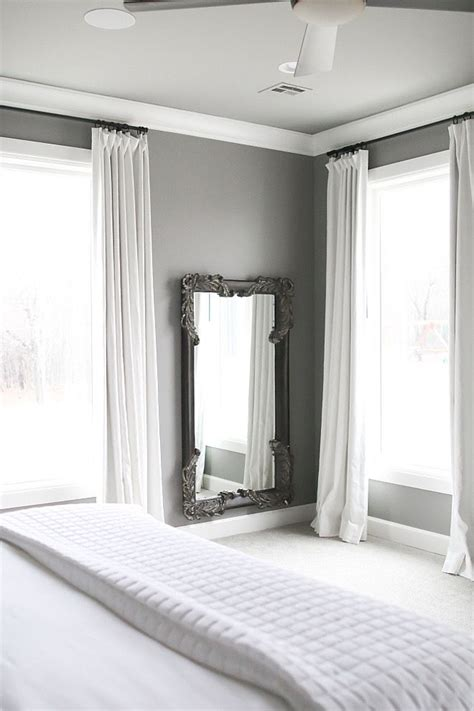 white paint for bedroom walls 1000 ideas about grey trim on pinterest cabinet colors