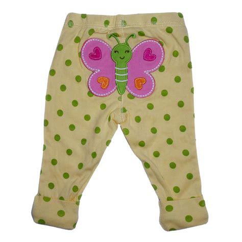 klikbabylove celana panjang kupu polkadot kuning