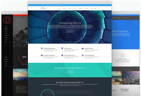 22 Best One Page Wordpress Themes In 2016 85ideas Com Divi Template