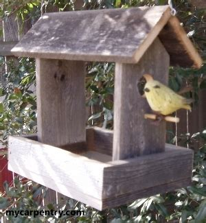 How To Build Birdhouses And Feeders bird feeder