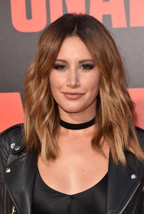 Tisdale Hairstyles by Tisdale Medium Wavy Cut Hair Lookbook Stylebistro