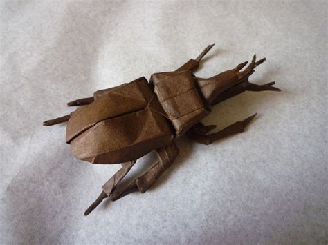Samurai Helmet Origami - 24 more amazingly realistic looking origami insects
