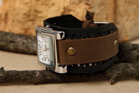 pulseras de cuero para relojes madeheart gt pulsera para reloj hecha a mano de cuero