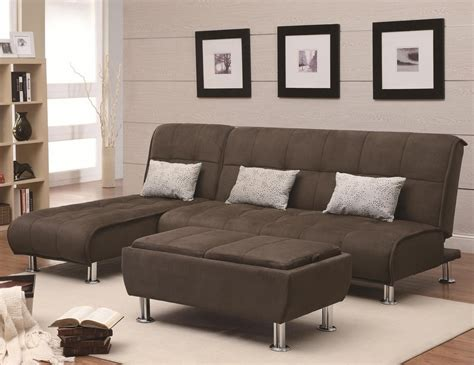 Brown Fabric Sofa by Coaster 300276 Brown Fabric Sofa Bed A Sofa