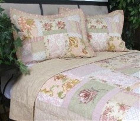 liz claiborne patchwork floral quilt ebay