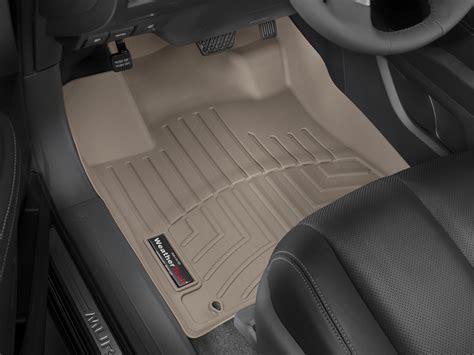 weathertech floor mats floorliner for nissan murano 2015 2017 1st row tan ebay