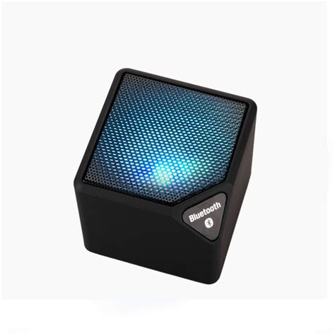 Speaker Bluetooth X3 mini x3 bluetooth speaker square led light tf card fm radio outdoors subwoofer with mic alex nld
