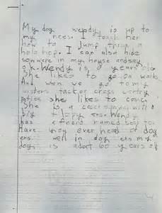 2nd grade handwriting hand writing