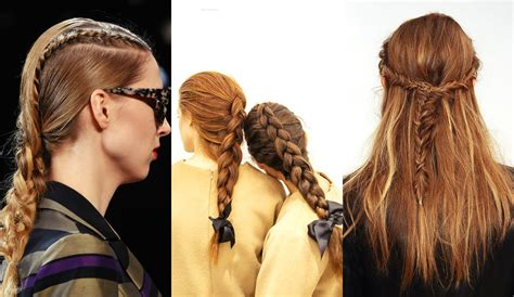 hairstyles braids 2017 fall winter 2017 hairstyles from runways hairdrome com