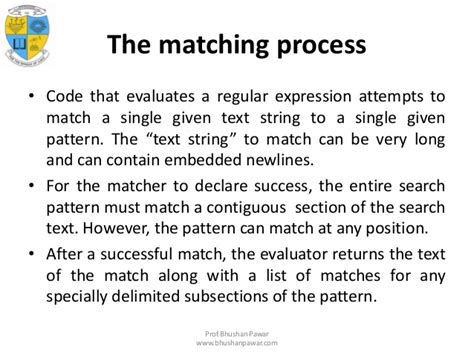 pattern matching bash script unit 4 scripting and the shell
