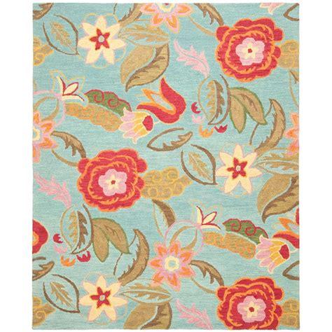 safavieh blossom rug safavieh blossom blue multi 9 ft x 12 ft area rug