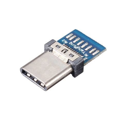 Usb 3 0 Socket Connector diy 24pin usb 3 1 type c socket