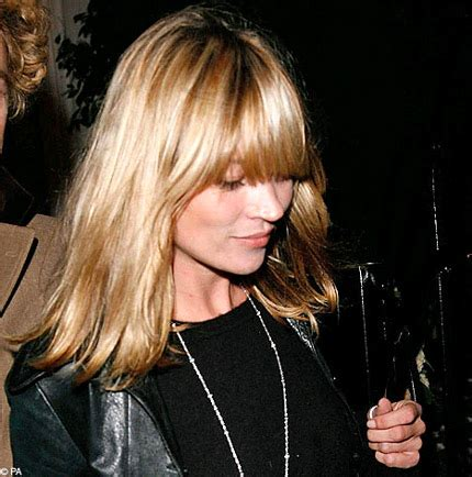 Kate Moss Gets A Fringe Will You Be Next Tips On Choosing The Style Fringe by Welcome To You 187 Maybe A Cool Fringe Is For You