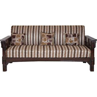 cushion sofa set 311 karigar 311 teak wood five seater sofa set with cushions