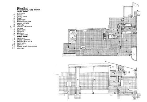 E Floor Plans by Eclipsing Le Corbusier Eileen Gray And E1027 Atelier Lo 239 E