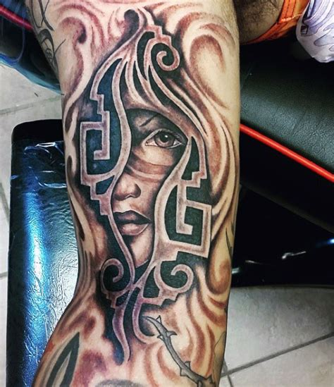 80 aztec tattoos for ancient tribal and warrior designs