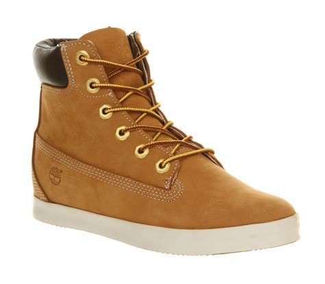 womens timberland boots womens timberland glastenbury 6 inch boot wheat nubuck boots