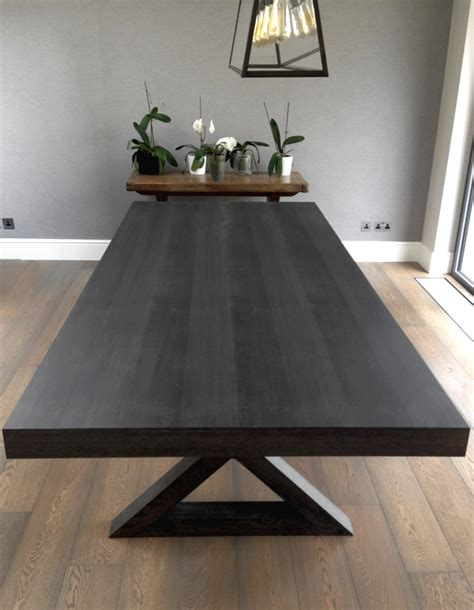 grey oak dining table polishing a grey oak dining table paleamber
