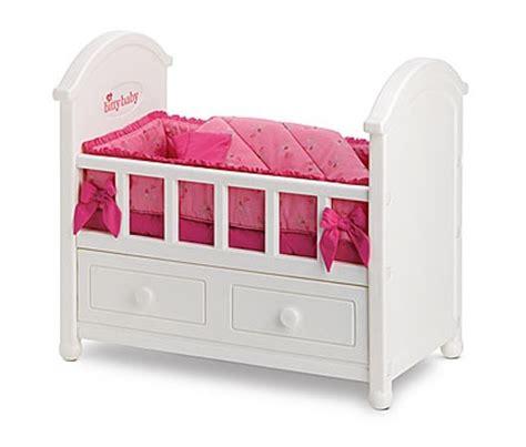 bitty baby bed bitty baby crib american girl doll pinterest
