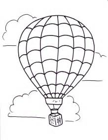 air balloon coloring page air balloon coloring pages free large images