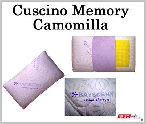 cuscino lattice o memory cuscino memory camomilla aroma therapy traforato sfoderabile