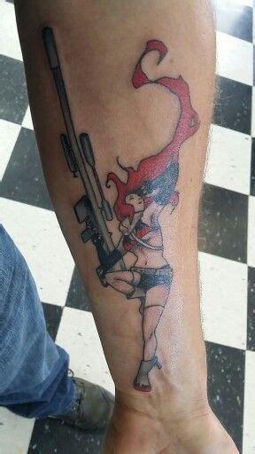 gurren lagann tattoo yoko gurren lagann anime gurren