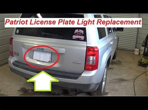 jeep license plate light jeep patriot fuse box location 30 wiring diagram images