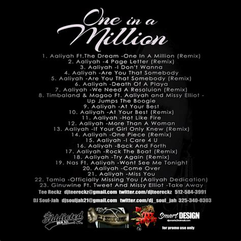 aaliyah one in a million mp3 download one and a million aaliyah download btmetr