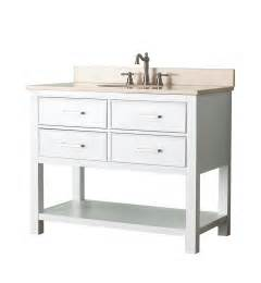 42 Vanity Bathroom 42 Quot Bathroom Vanity White Bathroom Vanities Bath Kitchen And Beyond