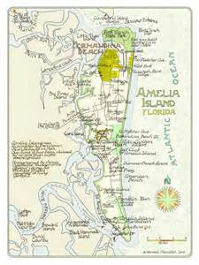 Where Is Amelia Island Florida On The Map by Amelia Island Florida In Two Sizes