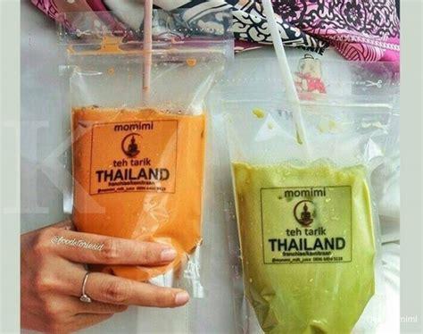 Teh Thailand menyeruput legit bisnis momimi teh tarik