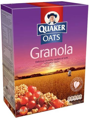 Combywide Cereal With Oat 600g quaker oat granola with raisins