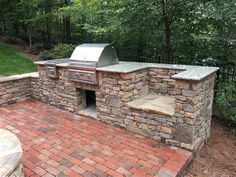 Natural Building Stone Outdoor Kitchen Amp Grill