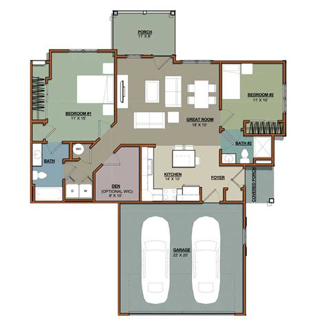 two bedroom plus den apartment floor plan oaks of lake george 2 bedroom plus den 2 bath portscape apartments sheboygan