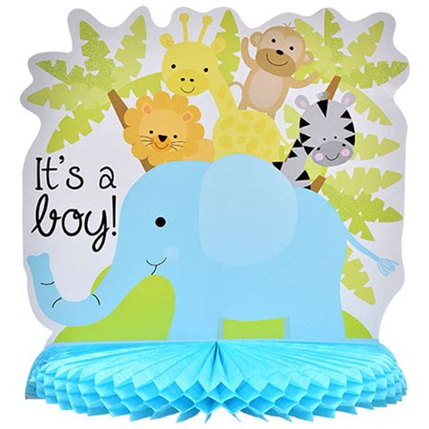 Dollar Tree Baby Shower by Bulk Blue Its A Boy Baby Shower Centerpieces 10 In At