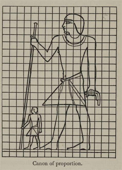 imagenes de figuras humanas egipcias 4 2 la proporci 243 n en la figura humana