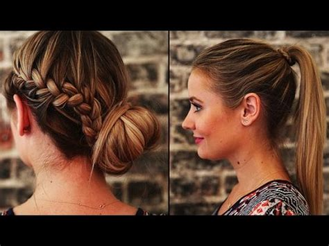 hairstyles with extensions youtube 3 hair styles for clip in hair extensions youtube