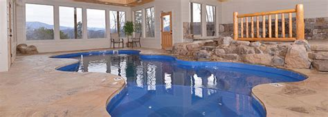 Pigeon Forge Cabin Rentals With Indoor Pool by Five Pigeon Forge Cabins With Indoor Pools