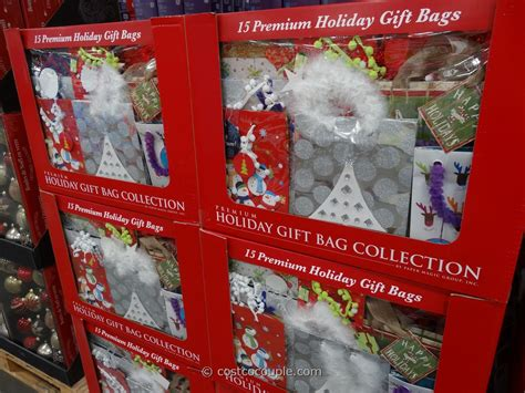 premium holiday gift bags set