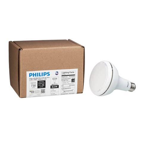 Lu Led Philips 30 Watt philips 429282 10 5 watt 65 watt br30 indoor flood led