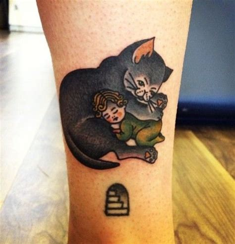 cat tattoo commercial 18 best spooks sleeve images on pinterest tattoo ideas