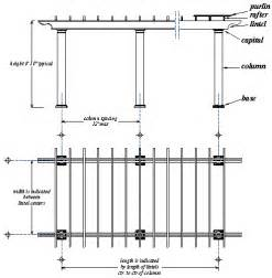 Pergola Size by Pergola The Anatomy Of Pergolas