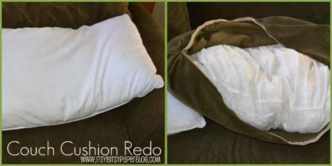 How To Fluff Pillows by How To Fix Sagging Cushions Leave The Fluff Inside
