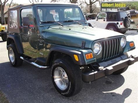 2000 Jeep Accessories Jeep Wrangler Sport Gilbert Jeeps And 4 215 4 S