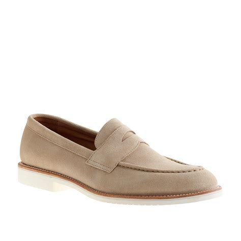 loafers for white j crew kenton suede loafers with white soles in